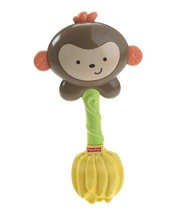 Fisher-Price Giggling Monkey SnugaMonkey Rattle