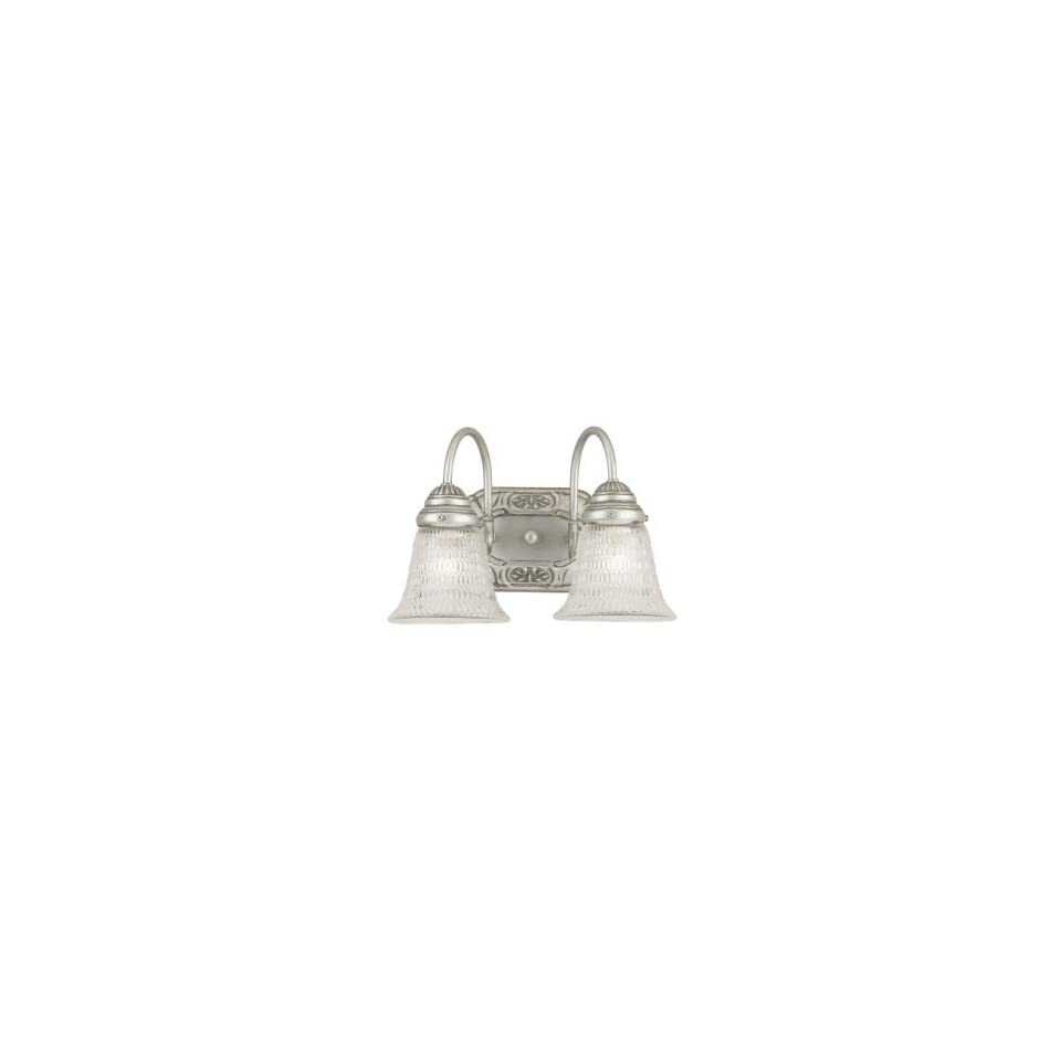 Westinghouse 64620   2 Light Antique Pewter Wall Bracket