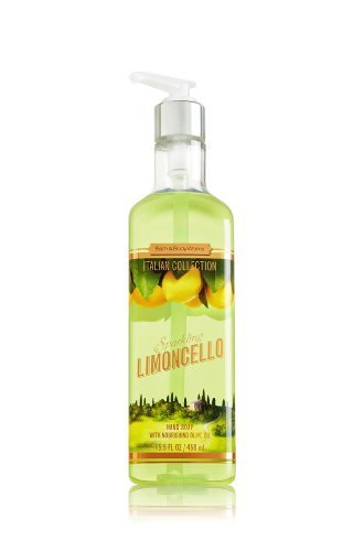 discount duty free Lot of 6 - Bath & Body Works Sparkling Limoncello Hand Soap 15.5oz Each X6 - Lemon Hand Wash - Italian Collection - Great for Kitchen or Bathroom by BB&W