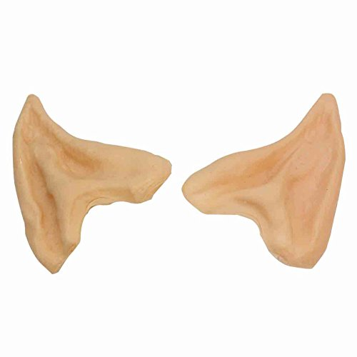 1 Pair Elf Pixies Sprites Ear Tips Cosplay Halloween Costume Stage Theatrical