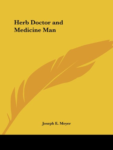 Herb Doctor And Medicine Man