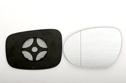 ASG Technik Außenspiegel Spiegelglas Ersatzglas Fiat Doblo ab 2010 RECHTS ASPHÄRISCH KOMPLETT