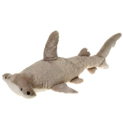 "Hammerhead Shark Plush Stuffed Animal Toy by Fiesta Toys - 28"" - 1"