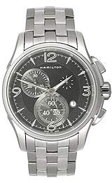Hamilton Men's H32612135 Jazzmaster Black Dial Watch