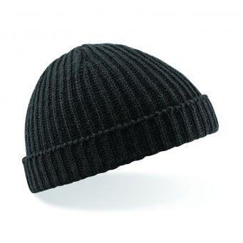 beechfield-unisex-retro-trawler-winter-beanie-hat-one-size-black
