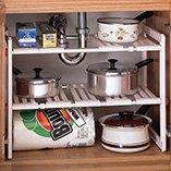 Under Sink Kitchen Shelf