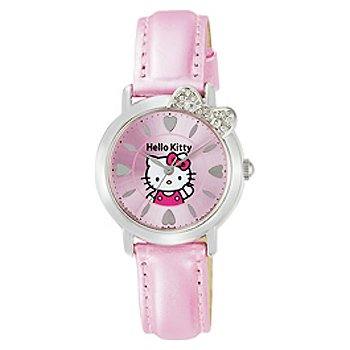 Hello Kitty Heart Dial Watch (Pink)