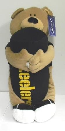 Pittsburgh Steelers Hugger Teddy Bear and Pillow from Forever Collectibles