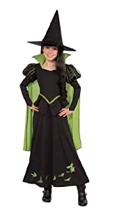Wizard of Oz Halloween Sensations Wicked Witch of The West Costume, Medium (75th Anniversary Edition)
