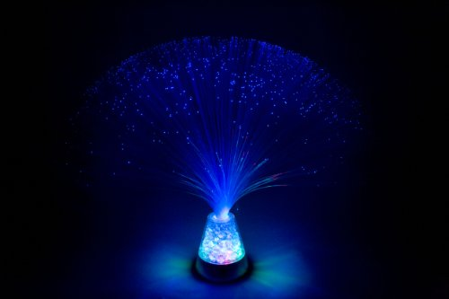 lampe-en-verre-de-fibre-optique