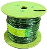 1000 ft. - Green - 18 AWG - SPT-1 Rated - Commercial Christmas Wire