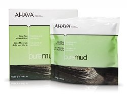 AHAVA Pure Spa Dead Sea Mineral Mud, box of 4 – 8.5 oz packets