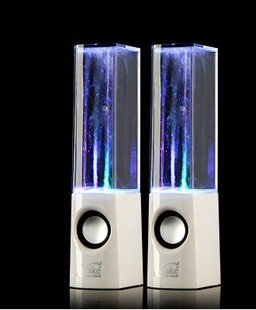 Atake Music Fountain Mini Amplifier Dancing Water Speakers I-station7 Apple Speakers