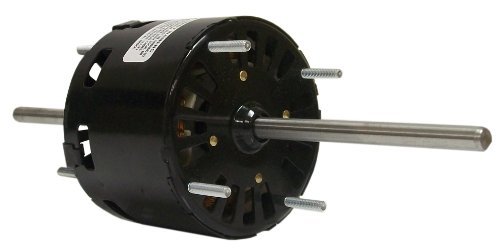 Fasco D128 3.3-Inch General Purpose Motor, 1/40 Hp, 115 Volts, 1500 Rpm, 3 Speed, 1.3 Amps, Oao Enclosure, Double Shaft, Sleeve Bearing
