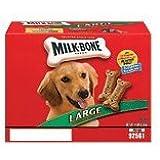 MILKBONE DOG BISCUITS 799100 Milkbone Bisc Large for Pets, 14-Pound