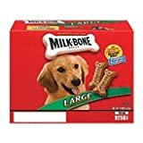 Milk-Bone DOG BISCUITS 799100 Milkbone Bisc Large for Pets, 14-Pound