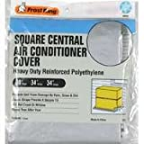 Frost King CC32XH 34x34x30 Square Central Air Conditioner Cover (Heavy Duty Reinforced Polyethylene)