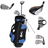 Golf Club junior confiance Set w / Stand Bag pour Les enfants âgés de LEFTY 4-7