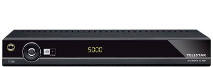 Telestar Diginova 10 Récepteur numérique HD+ Interface CI+ HDMI USB 2.0 Fonction PVR carte HD+ Noir