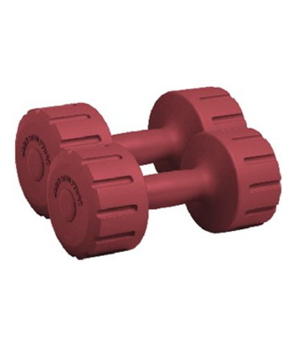 Body Sculpture Vinyl Dumbbell, 2kg/Pair