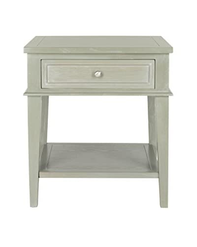 Safavieh Manelin End Table, Ash Grey