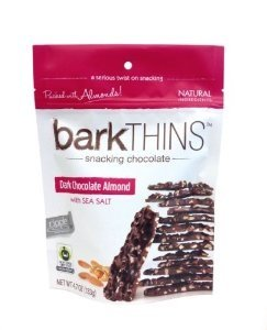 Bark Thins Snacking Chocolate: Dark Chocolate Almond with Sea Salt (17 Oz)
