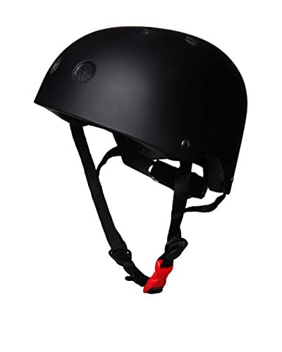 Kiddimoto Casco Design Matte Black [Nero]