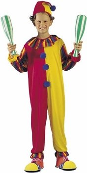 Child's Big Top Clown Costume (Size: Large 11-14)