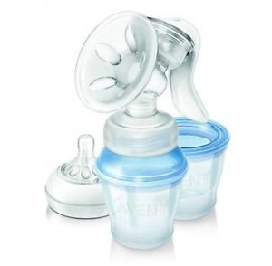 Philips Avent Natural Comfort Manual Breast Pump With 3 Storage Cups Scf330/12 Great Gift For Baby Free Shipping Ship Worldwide