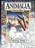 Animalia Coloring Book (0810926334) by Base, Graeme