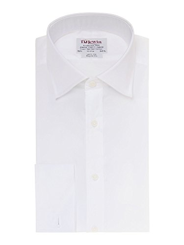 tmlewin-camicia-casual-basic-classico-maniche-lunghe-uomo-bianco-bianco