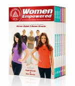 Women Empowered Self Defense 6 DVD Set by Gracie Academy