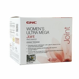 Gnc Womens Ultra Mega Joint Vitamin Pack, 30 Count