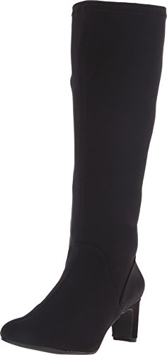 Vaneli Women's Damian Black Nicole Stretch Boot 8 M (B)