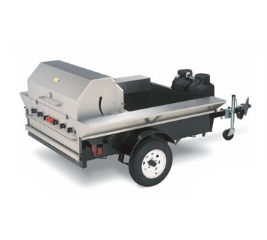 "Crown Verity (TG-2) - 69"" Tailgate Grill"