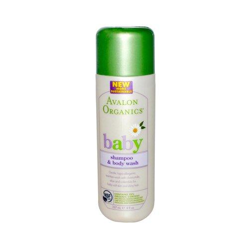Avalon Organics Tear-Free Baby Shampoo And Body Wash - 8 Fl Oz Avalon Organics Tear-Free Baby Shamp