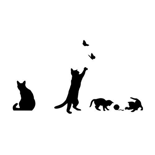 vidlan-gatti-farfalla-wall-stickers-art-decalcomanie-carta-da-parati-decorazione-casa-fai-da-te