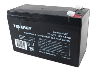 Tenergy 12V 7Ah (Tb1272) Maintenance-Free Sealed Lead Acid (Sla) Battery