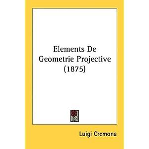 Elements De Geometrie Projective (1875)
