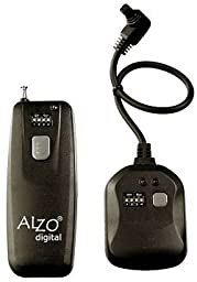 Alzo Wireless Radio Shutter Release for Nikon Fuji - 300 Ft Range - Incl. D700, D300, D200, D3, D2, D2H, D2Hs, D2X, D1, D1H, D1X & Fuji S3, S5, Uvir