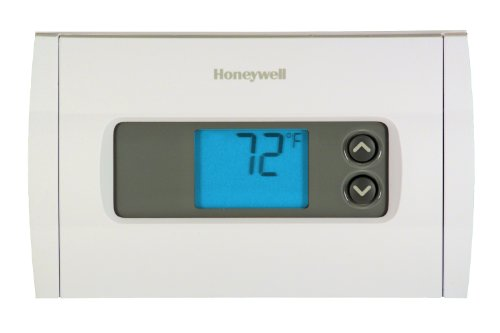 Rth1100B Horizontal Digital Non-Programmable Thermostat
