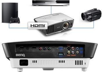 The BenQ W770ST Projector with Colorific Technology
