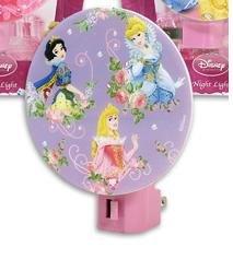 Disney Princesses Princess Purple Night Light Girls Room Decor