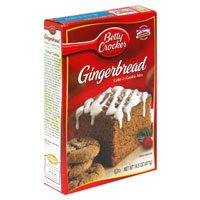 Betty Crocker, Gingerbread Cake & Cookie Mix, 14.5oz Box