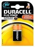 Battery, Plus Power, 9v 1pk, Duralock