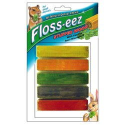 FM Brown's Floss-eez Stuffed Wood Dental Chew Treat for Small Animals-5 Pack