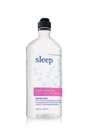 バス&ボディワークス アロマセラピー スリープ ナイトタイムティーウォッシュ&フォームバス Aromatherapy Sleep Night Time Tea Body Wash & Foam Bath