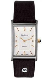 Bruno Söhnle Women's Quartz Watch with Silver Mediane Analogue Quartz Leather 17-23092-941