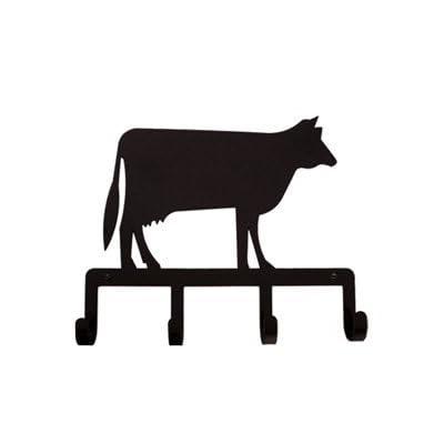 Village Wrought Iron KH-5 Cow Key Holder