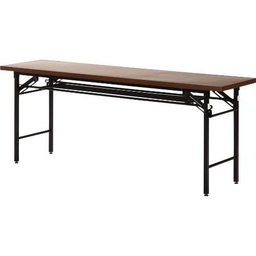 不二貿易 会議テーブル (ハイタイプ) 幅180x奥行45cm 94464